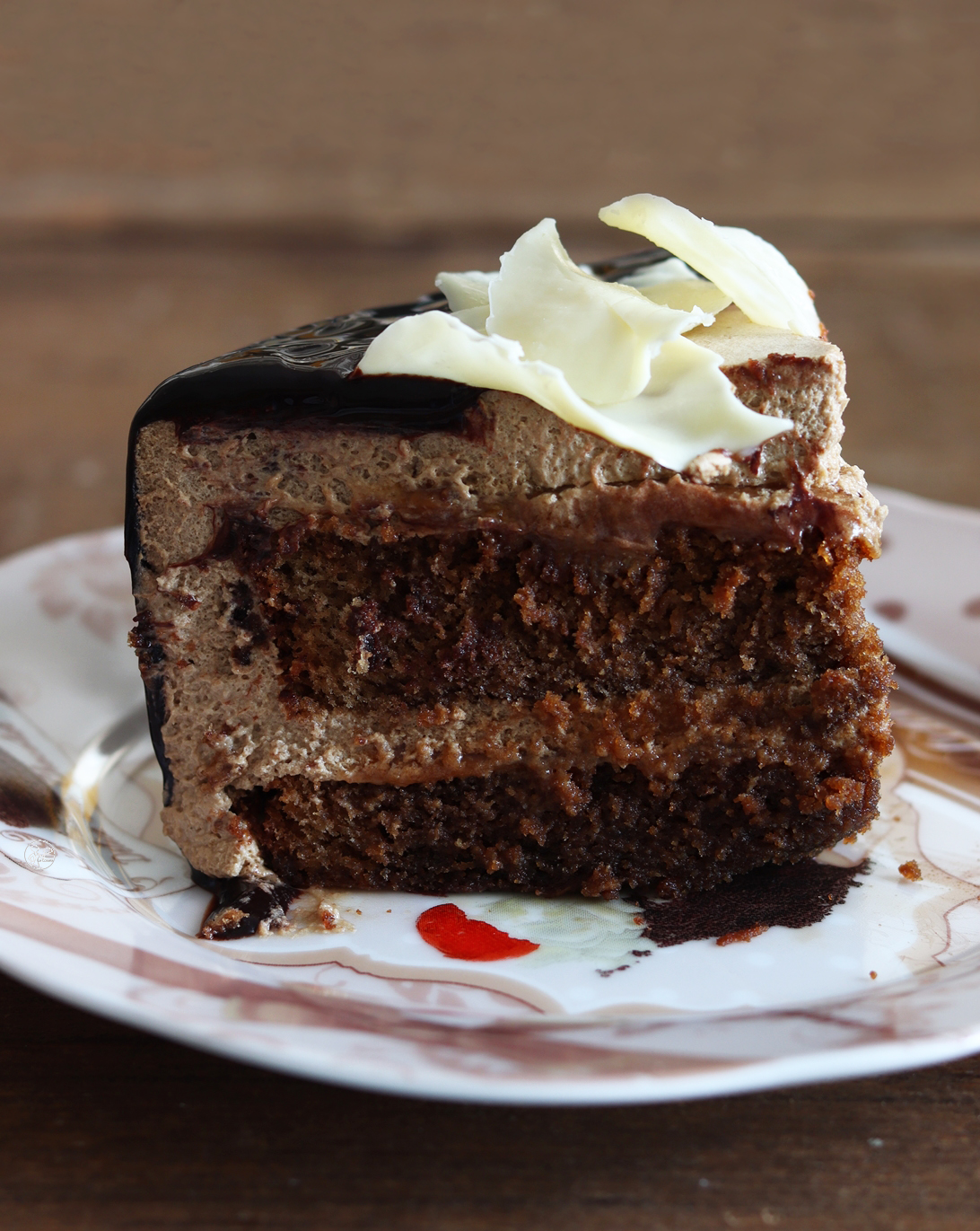 Torta al caffè e caramello senza glutine - La Cassata Celiaca